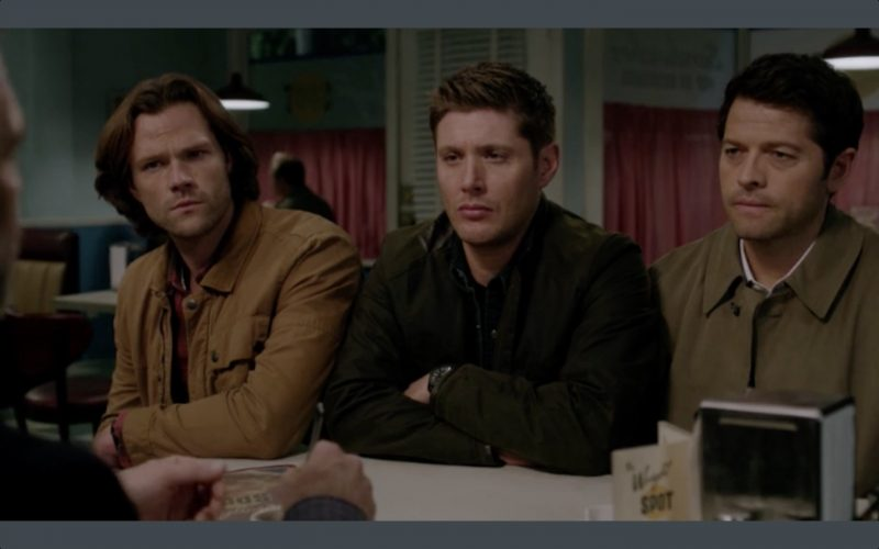 supernatural 1210 dean sam winchester with castiel