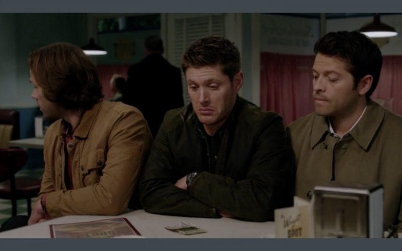 supernatural 1210 dean winchester sam pie time
