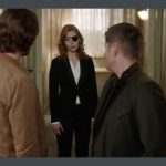 supernatural 1210 lily alicia witt with winchesters