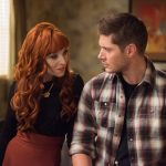 supernatural 1211 rowena gets dean winchester on motel bed