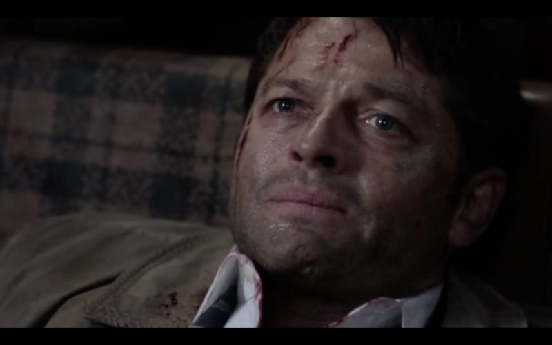 supernatural 1212 castiel love wounds