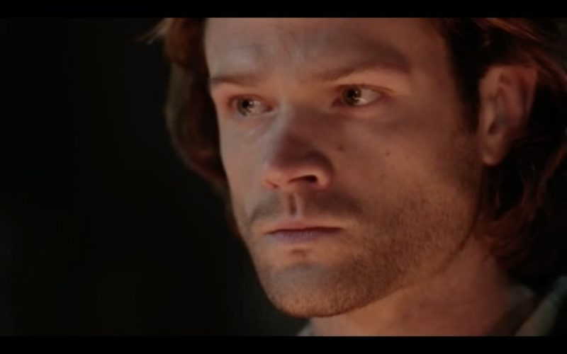 supernatural 1212 sam winchester huh moment stuck in middle
