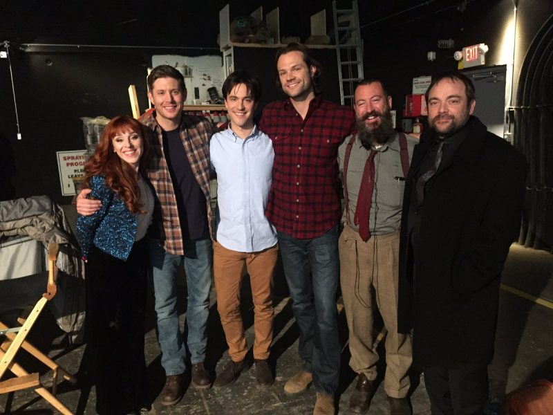 supernatural 1213 family feud cast jensen ackles