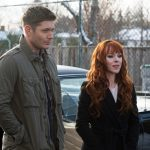 supernatural 1213 rowena with dean winchester family feud