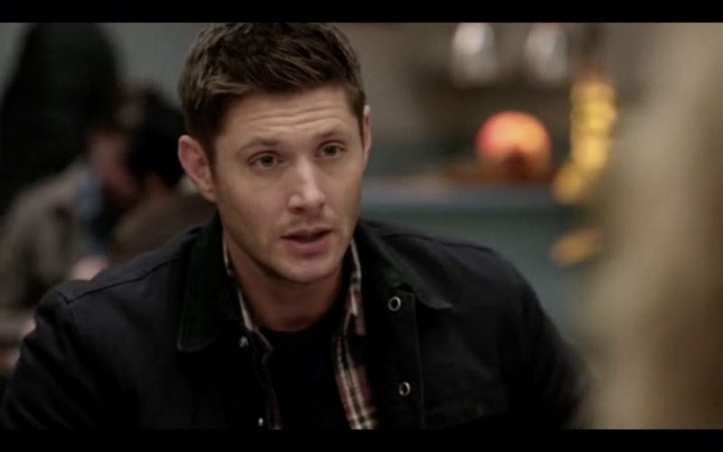 supernatural dean winchester diner 1212 stuck in middle