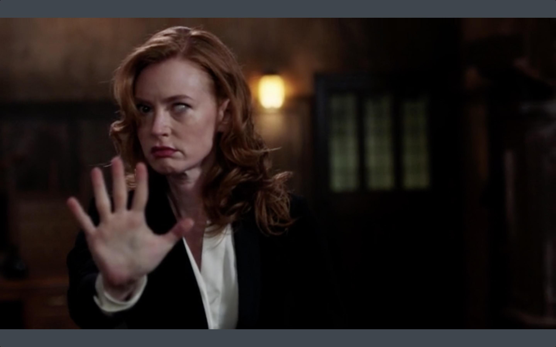 Supernatural Lily Alicia Witt Possessed Movie Tv Tech