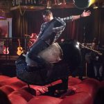 supernatural regarding dean winchester riding bull larry 1211