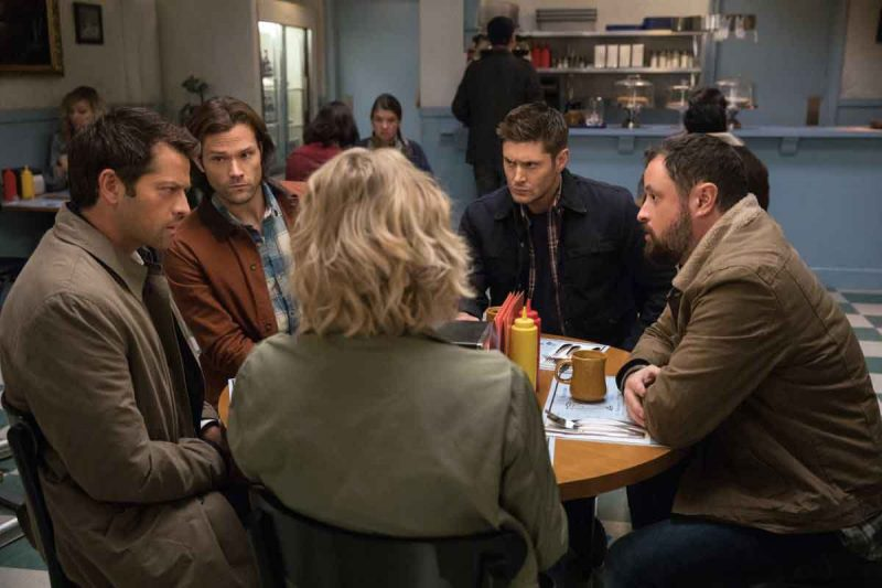 supernatural stuck in the middle with you review