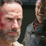 walking dead negan and rick grimes