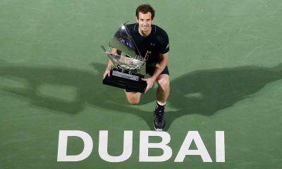 Andy Murray beats Fernando Verdasco for ATP Dubai 2017 title images