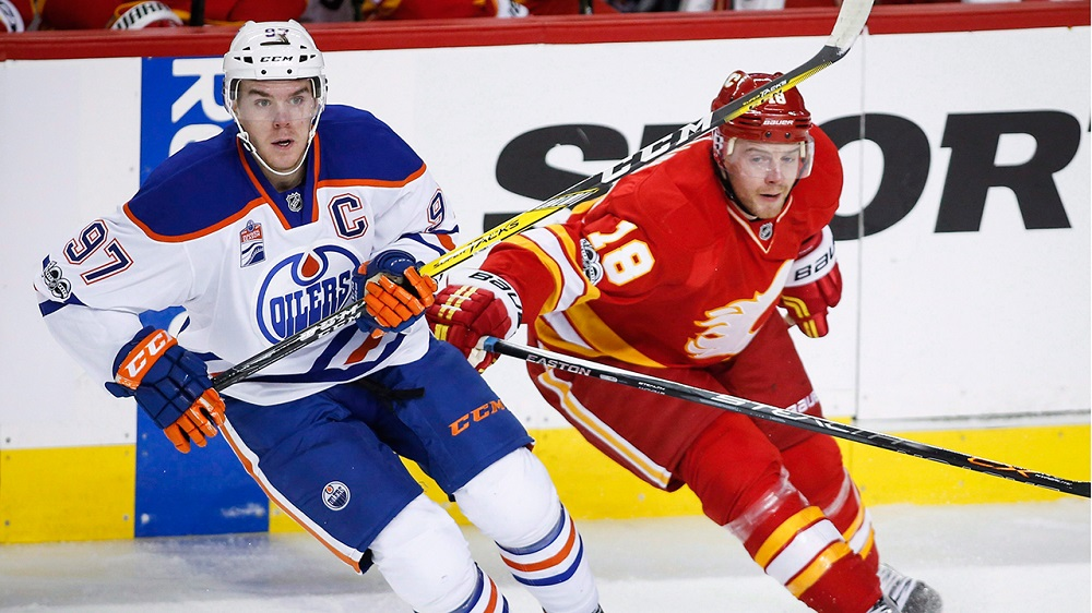 Calgary Flames Creeping up on Edmonton, Anaheim 2017 images