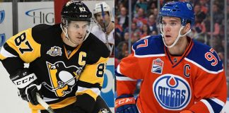 Connor McDavid or Sidney Crosby   NHL Hart Memorial MVP Race Heats Up 2017 images