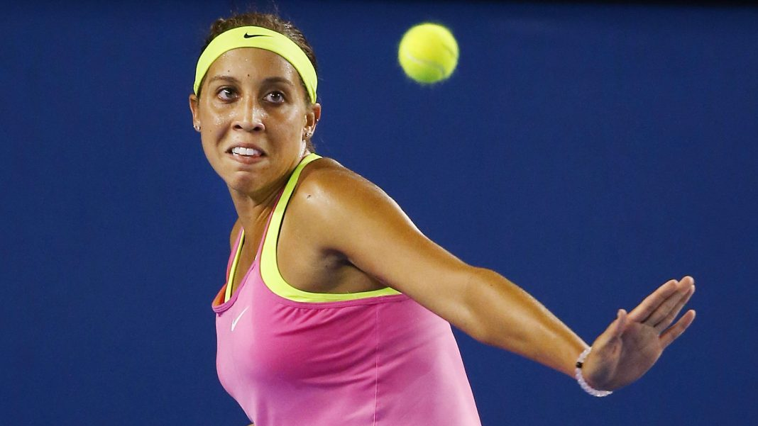 Madison Keys top American after Serena Williams withdraws from Indian Wells 2017 images