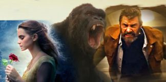 beauty and the beast hold off kong and logan at box office 2017 images