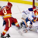 can oilers hold off calgary flames 2017 nhl