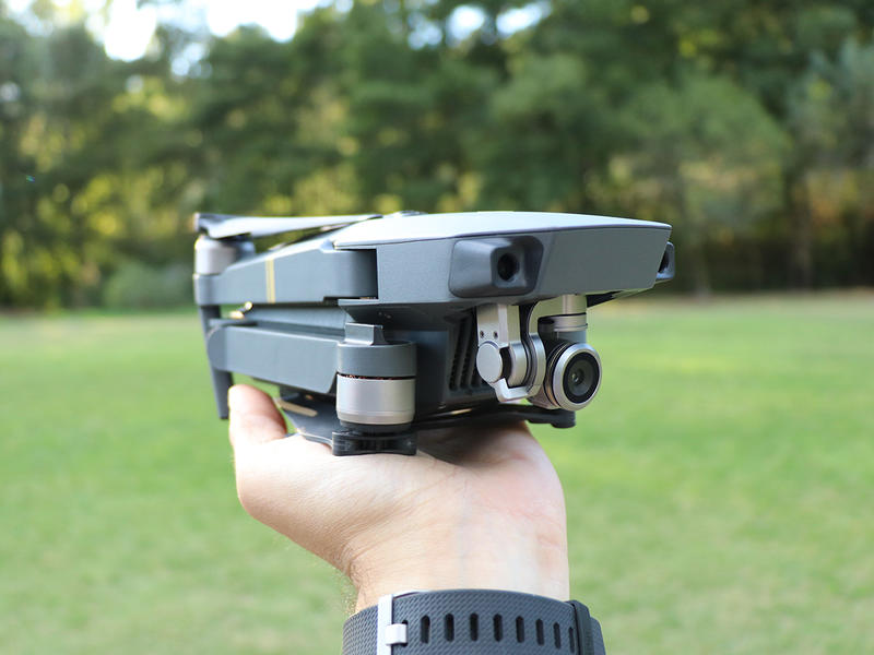 dji mavic pro folded up small