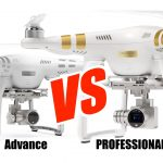 dji phantom 3 advanced vs professional models