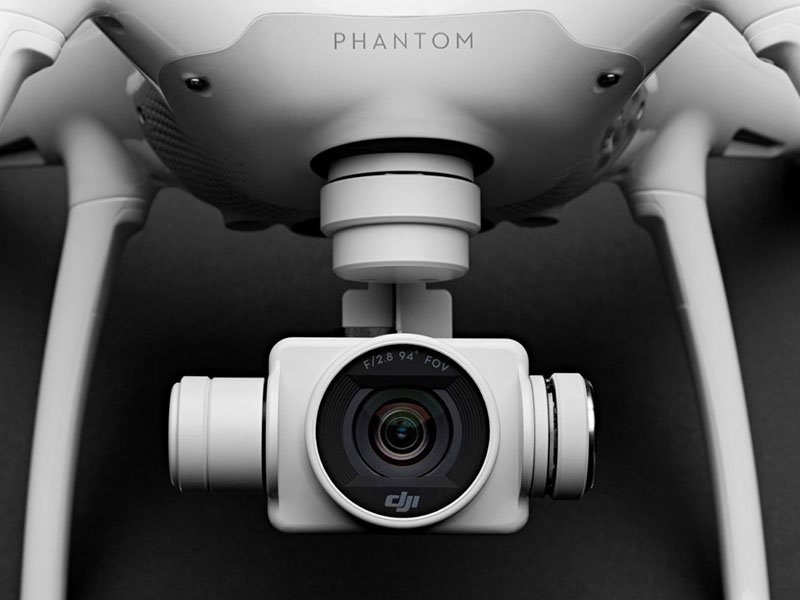 dji phantom 4 camera close up images
