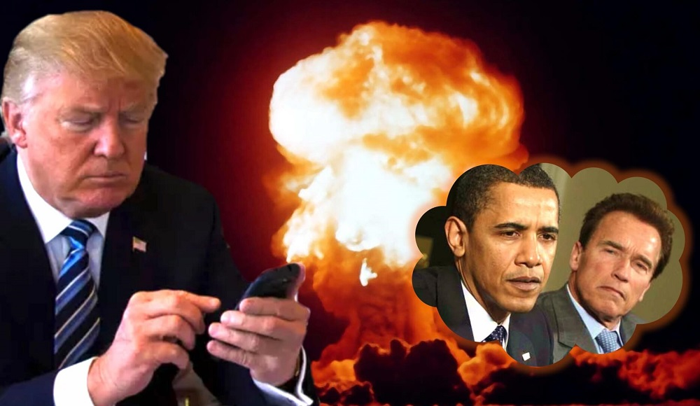 donald trump blowing up twitter