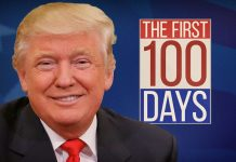 donald trump grabbing credit for first 100 days fact check 2017 images