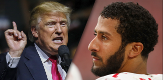 donald trump weighs in on colin kaepernicks nfl future