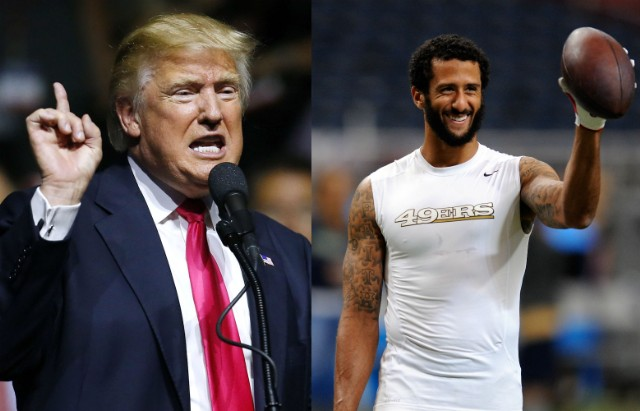 donald trumps knocks colin kaepernick now