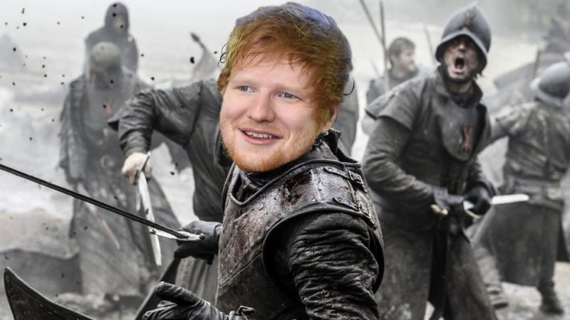 ed sheeran showing up in game of thrones