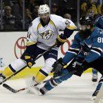 Edmonton Oilers looking to bite into San Jose Sharks slump