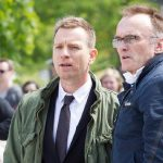 ewan mcgregor with danny boyle t2