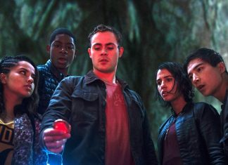 hollywoods tiny dip into lgbt pool with power rangers trini, sulu and lefou 2017 images