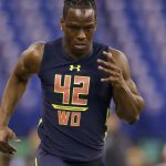 John Ross breaks NFL Combine record but loses an Addidas island