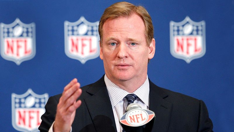 roger goodell vows less nfl commercials 2017 images