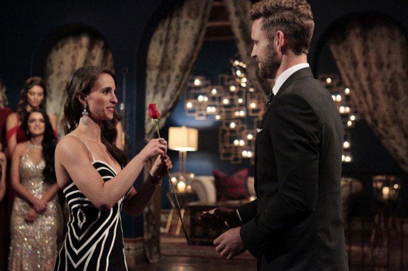 nick viall bachelor gives vanessa final rose