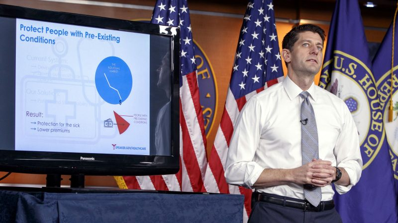 paul ryan reacts to cbo report on trumpcare