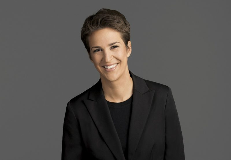 rachel maddow donald trump scoop taxes