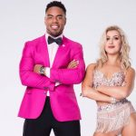 rashad jennings with emma slater dancing with stars season 17 cast