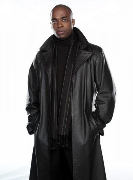 rick worthy black leather