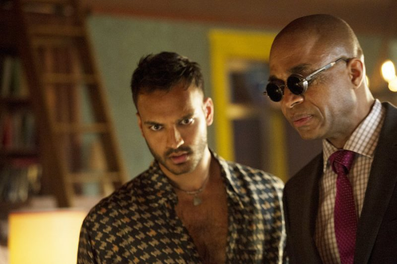 rick worthy in the magicians with rami