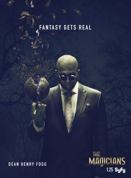 rick worthy magicians poster