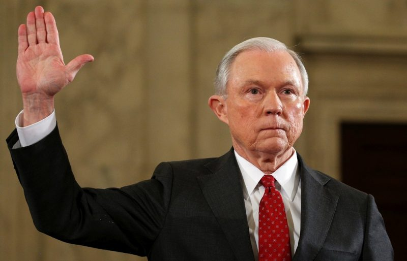 russia connection continues for donald trump with jeff sessions 2017 images