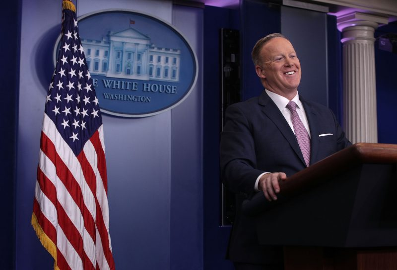 sean spicer savvy move around donald trump mess
