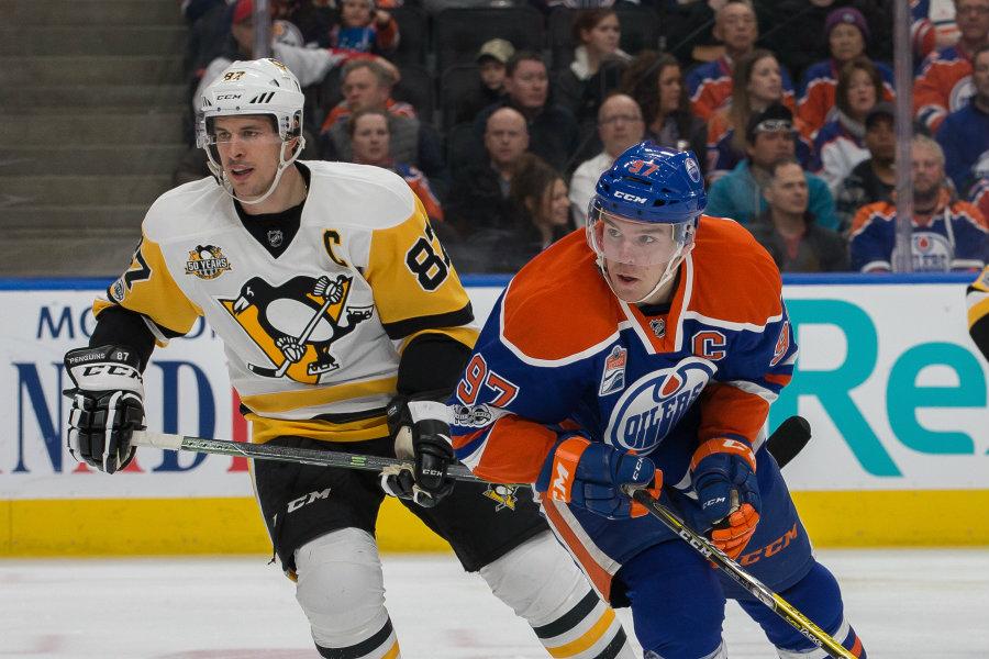 Connor McDavid or Sidney Crosby   NHL Hart Memorial MVP Race Heats Up 2017 images