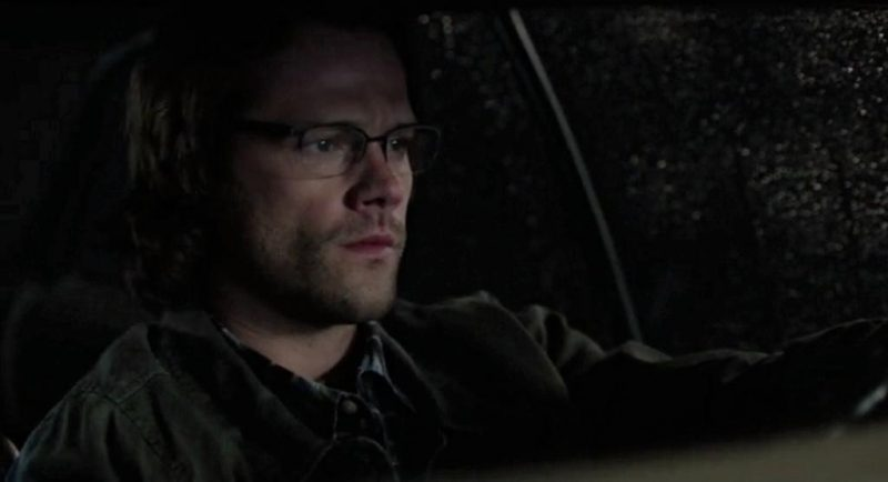 supernatural sam winchester in glasses heaven