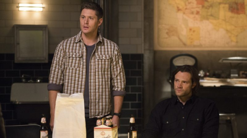 supernatural the raid sam dean winchester beer