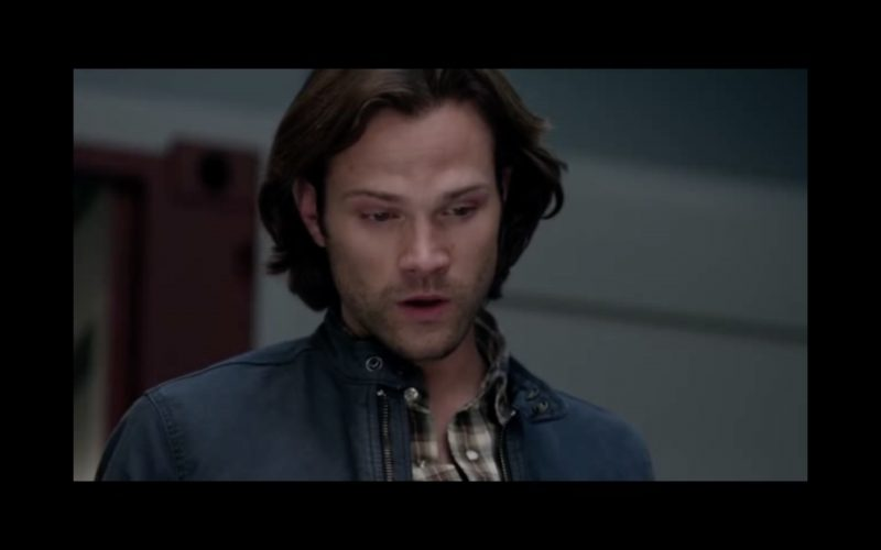 supernatural the raid sam winchester mouth open for dean 1214