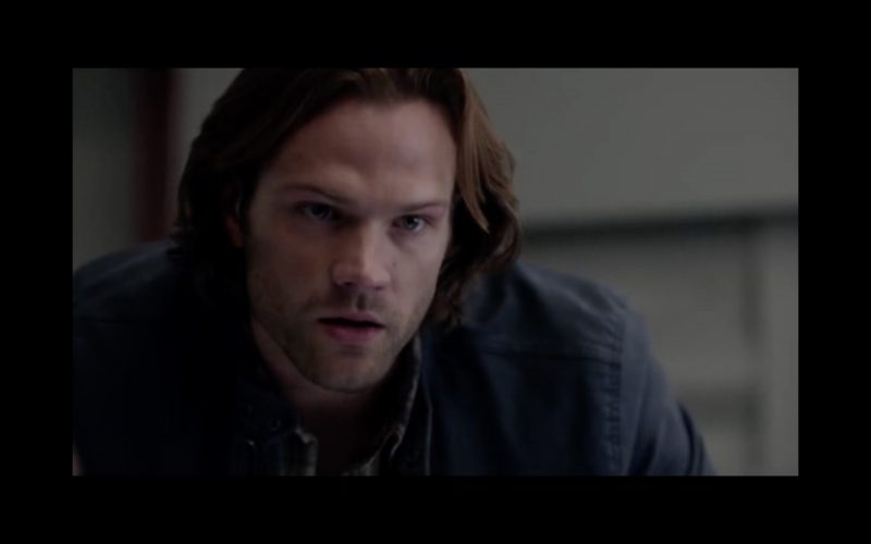 supernatural the raid sam winchester thinking hard for dean