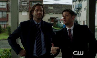 supernatural winchester brothers somewhere between heaven and hell 2017 images