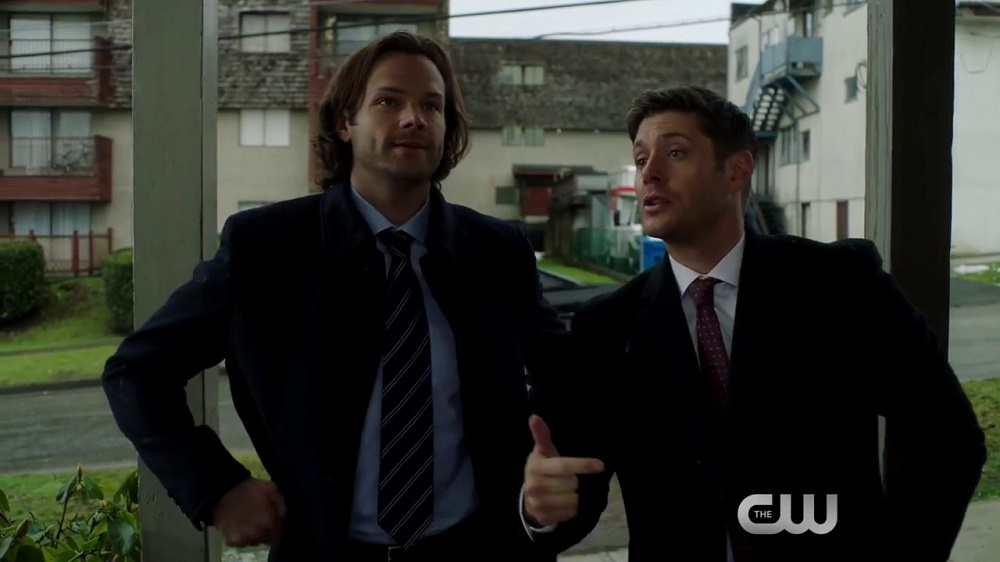 'Supernatural' Winchester brothers somewhere between heaven and hell 2017 images