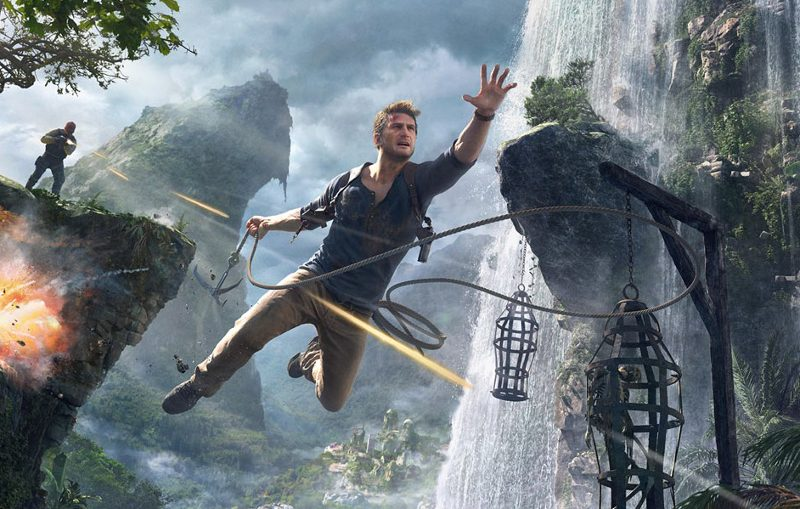 uncharted 4 game play movie tv tech geeks
