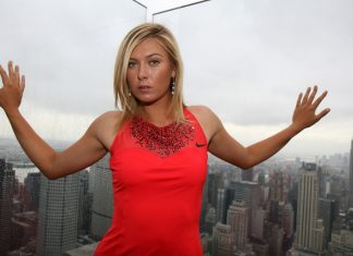 Maria Sharapova Was Suspended in a Man's World 2017 images